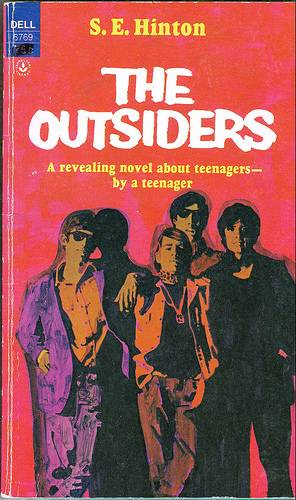 Book Cover Art Search ~ The outsiders aaronmritchey