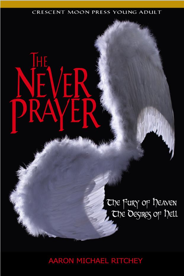 The Never Prayer book cover, full size