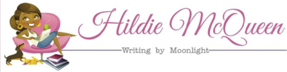 Hildie writing by